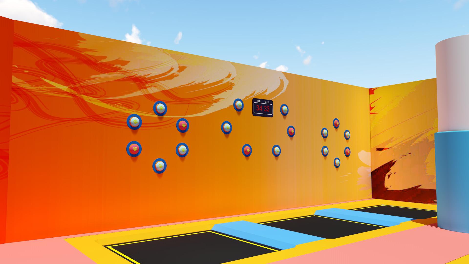 互动竞技--蹦床乐园