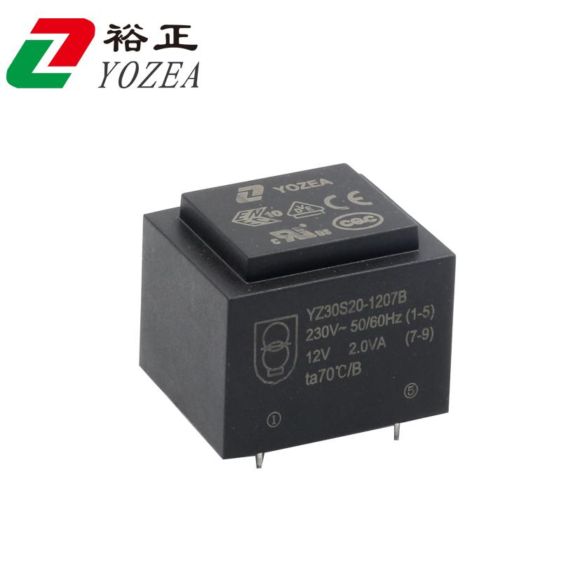 EI30  EI30/15.5 EI30/16 2VA 灌封变压器  VDE CE UL