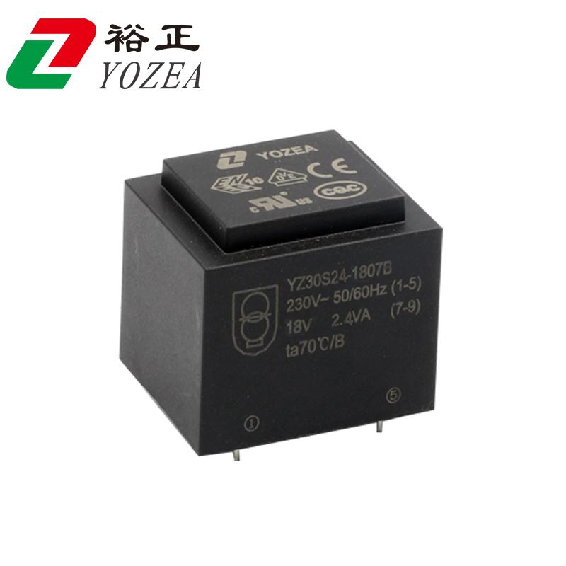 EI30  EI30/15.5 EI30/16 2.4VA 灌封变压器 CE UL