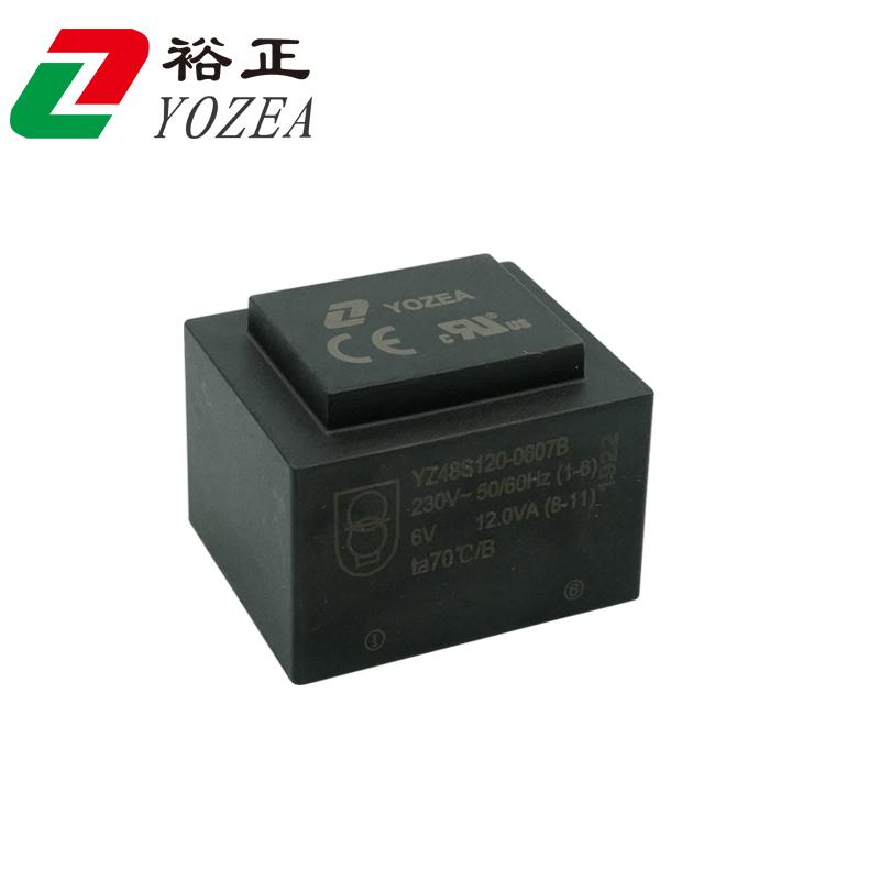 EI48  EI48/20  12VA 灌封变压器 CE UL