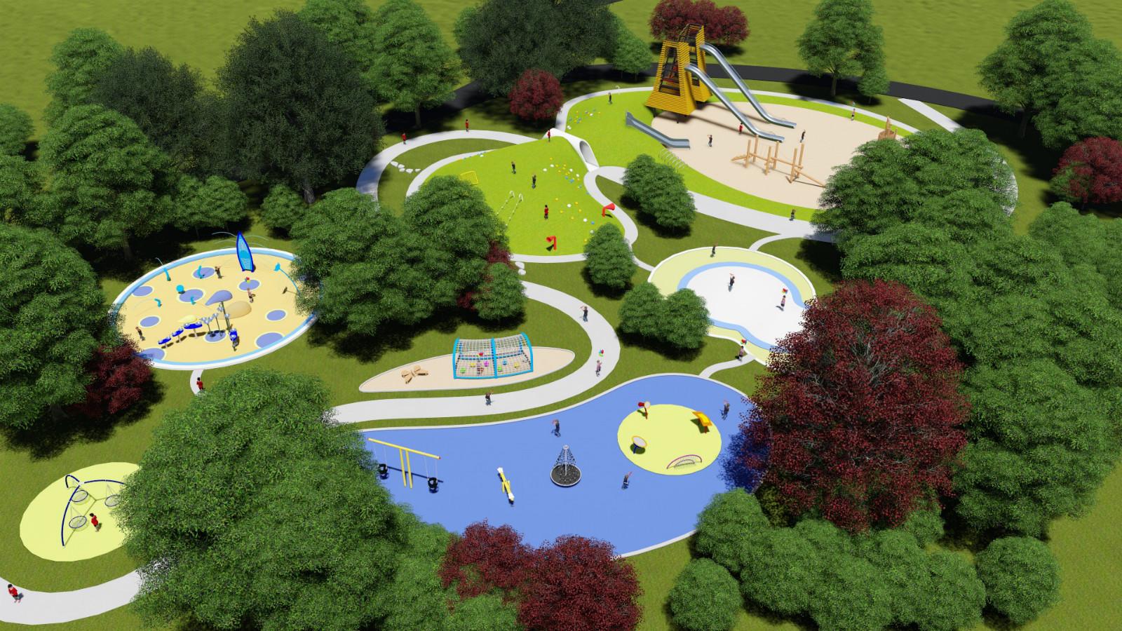 挑战性公园无动力游乐设备