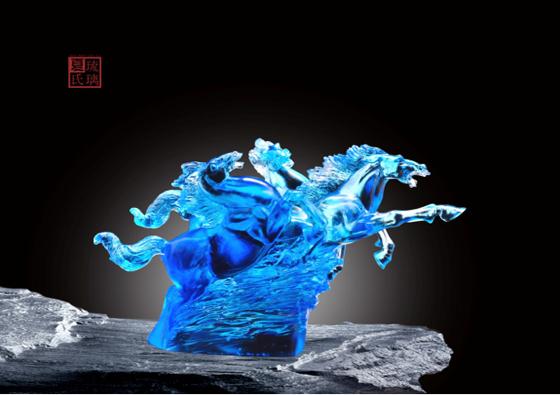 夏氏琉璃浅谈蓝色琉璃色彩意义和作用