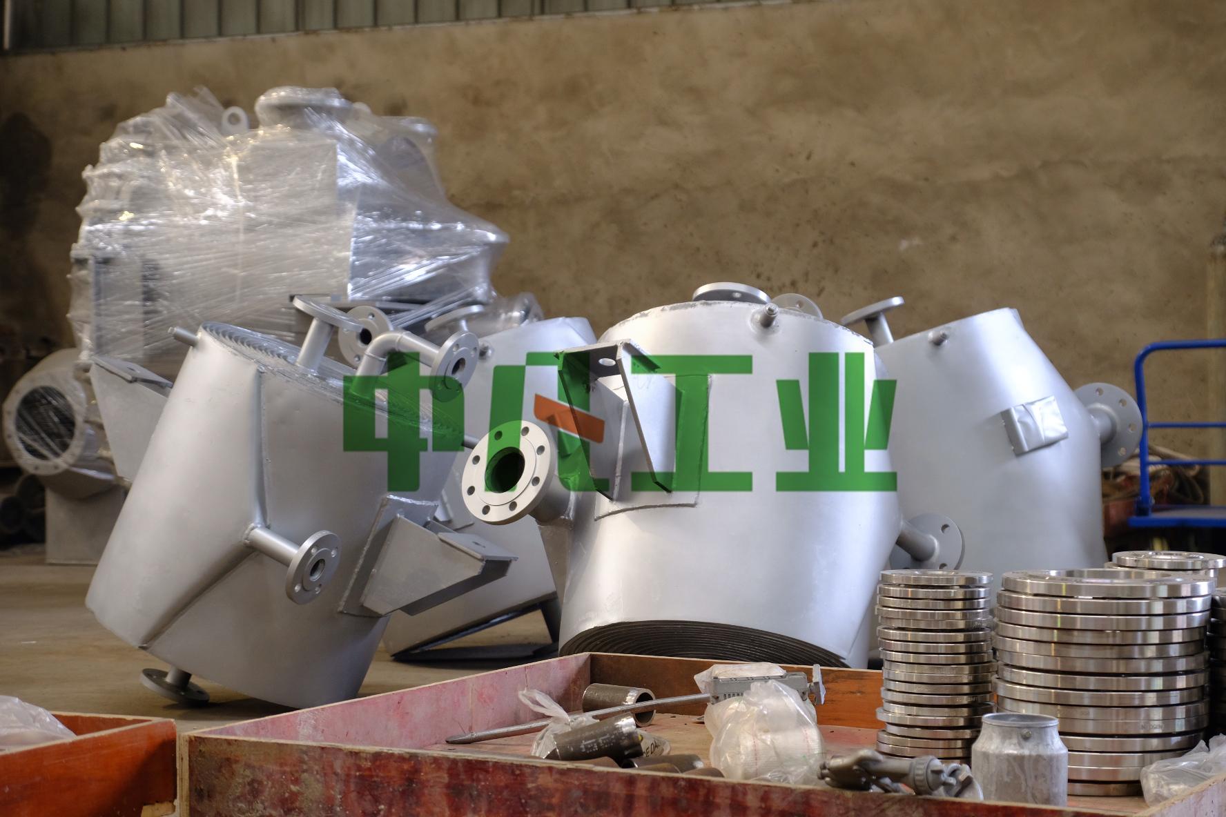 江苏先锋干燥螺旋板式换热器顺利交付