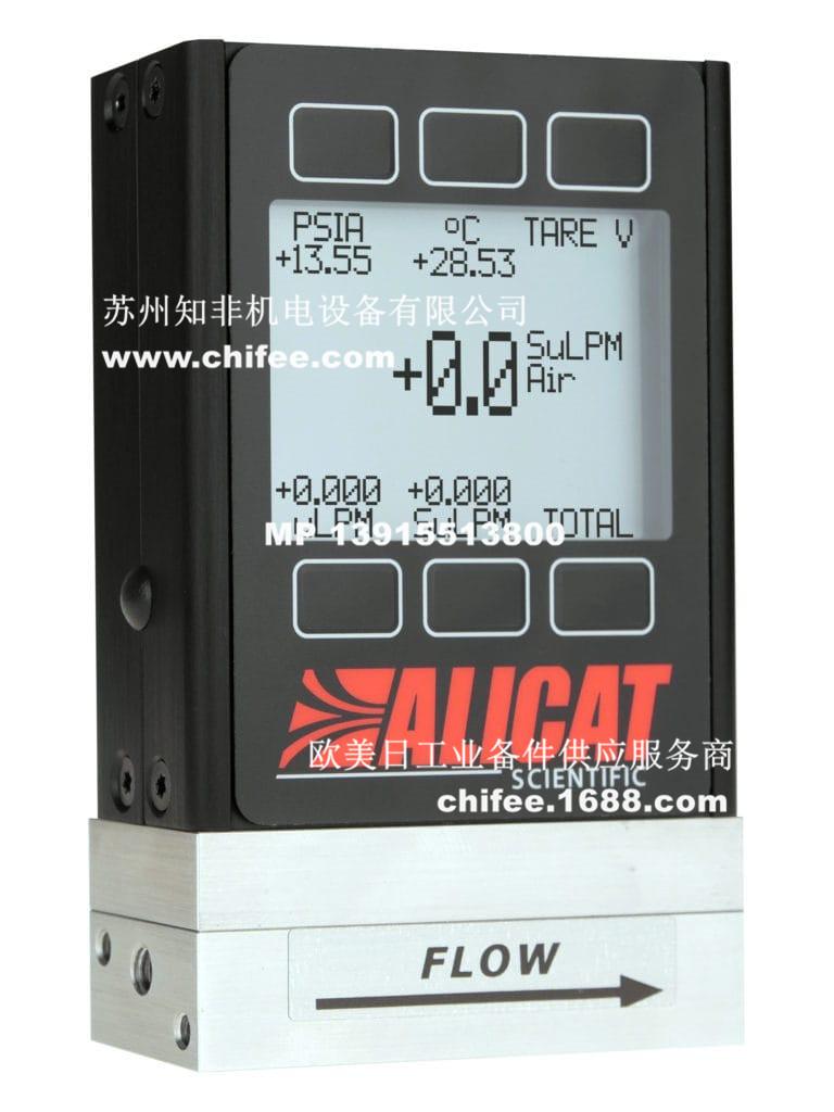 美国艾里卡特Alicat气体质量流量计M/MB/MWB便携式流量计MS耐腐蚀气体流量计WHISPER低压损气体质量流量计