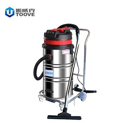 拓威克PY308B工厂车间吸尘器 单桶不锈钢材质工业吸尘器
