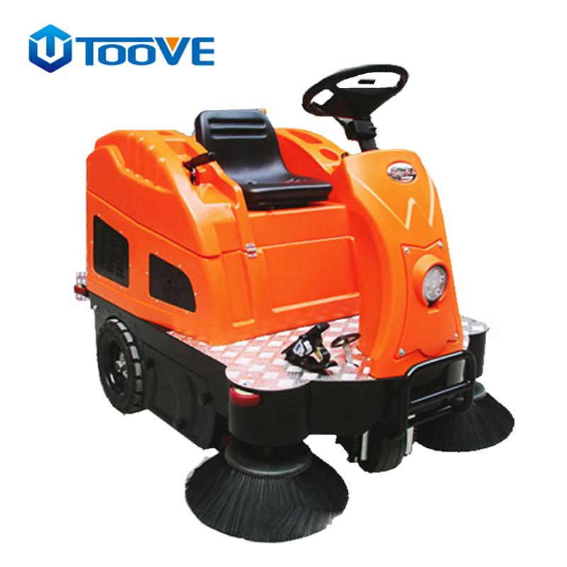 TS-1400街道物业环卫半封闭驾驶式扫地车扫地机 电动扫地车