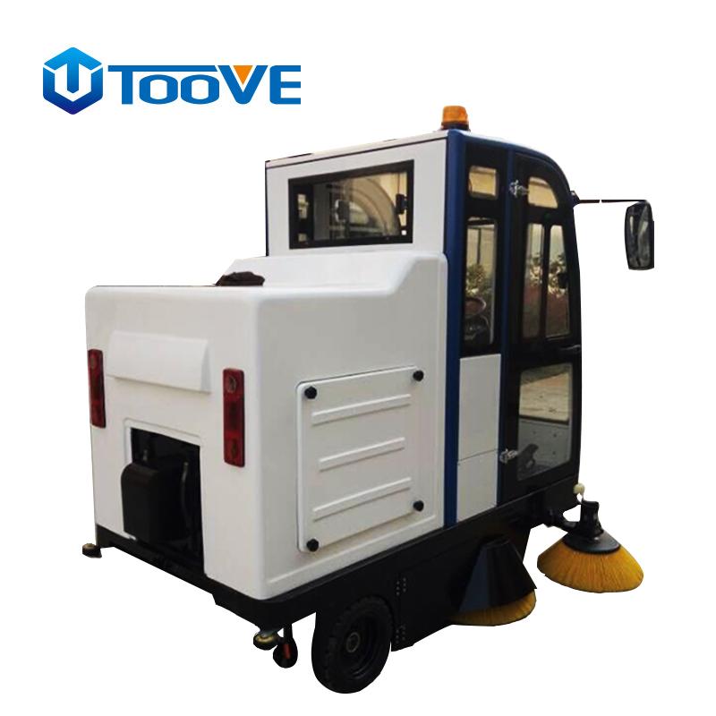 拓威克 TS-2000豪华版全封闭驾驶式扫地机  市政路面大型清扫车