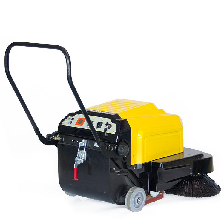 TS-100手推式环卫电动扫地车 电瓶双刷景区清扫车  小型扫地机价格优惠 可租可售 上门维修