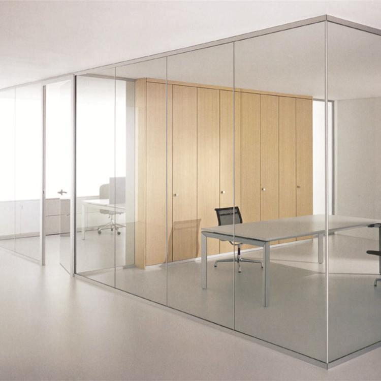 卫浴玻璃隔断写字楼办公隔断百叶玻璃思念溪