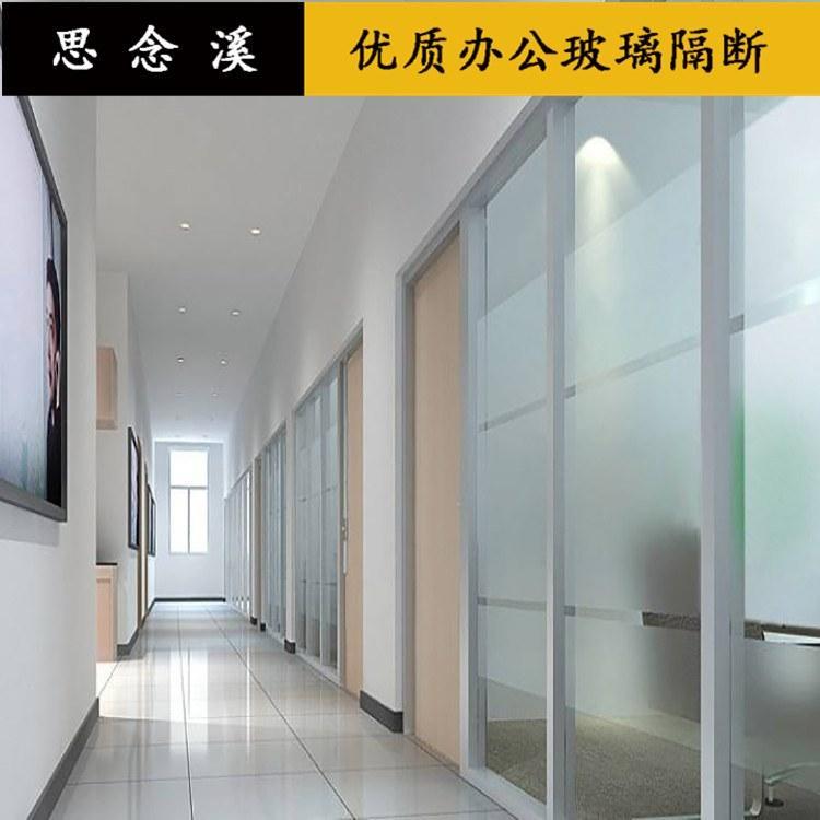 工艺玻璃隔断简易欧式风格工厂直销思念溪