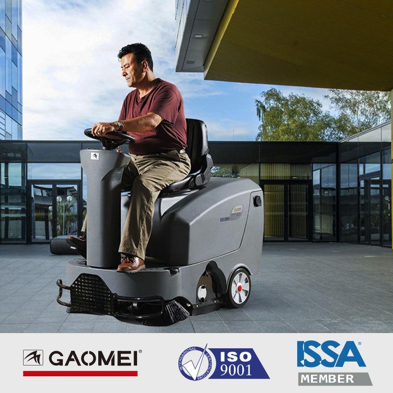 高美S-MINIS工厂车间车库用驾驶式扫地机 中小型驾驶式全自动大功率扫地车