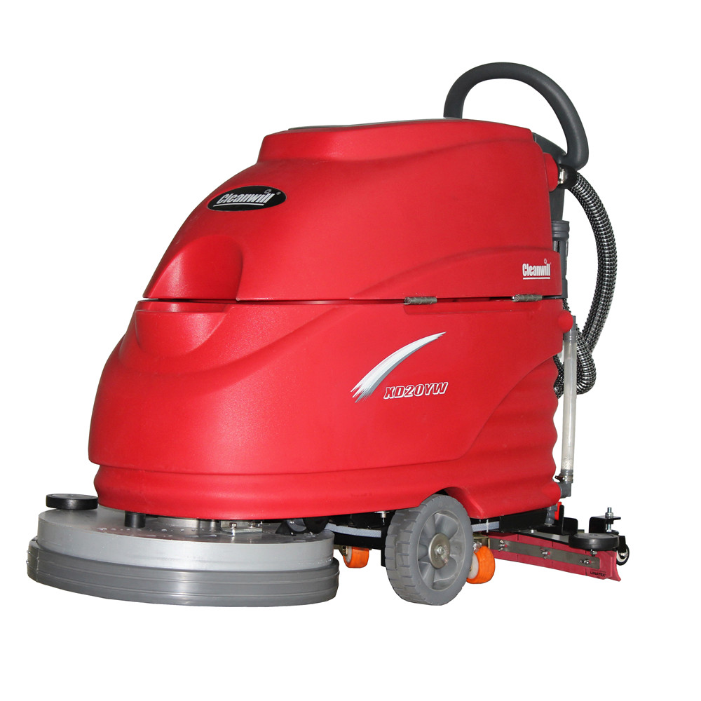 手推式克力威洗地机 停车场电动洗地车 瓷砖清洗设备