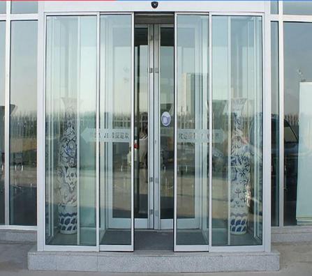 定制玻璃隔断墙 电动感应平移玻璃门隔断 思念溪 厂家定做