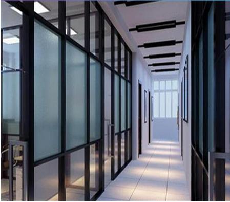 南京玻璃门生产商 思念溪成品玻璃隔断墙 下单即安排发货