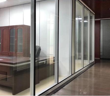 南京玻璃门出厂价 思念溪办公室玻璃活动隔断 质量好价格优