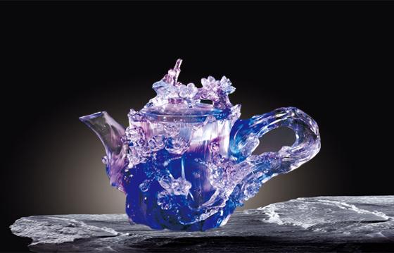 夏氏琉璃推出新中式--杯壶系列美出了新高度