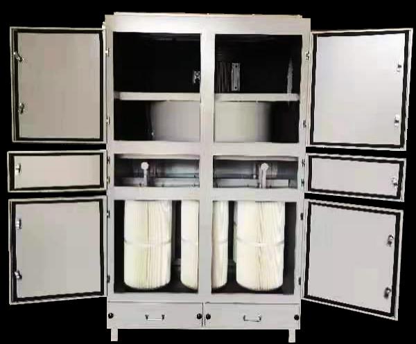 如何利用工业除尘器处理环氧板台钻产生的粉尘?