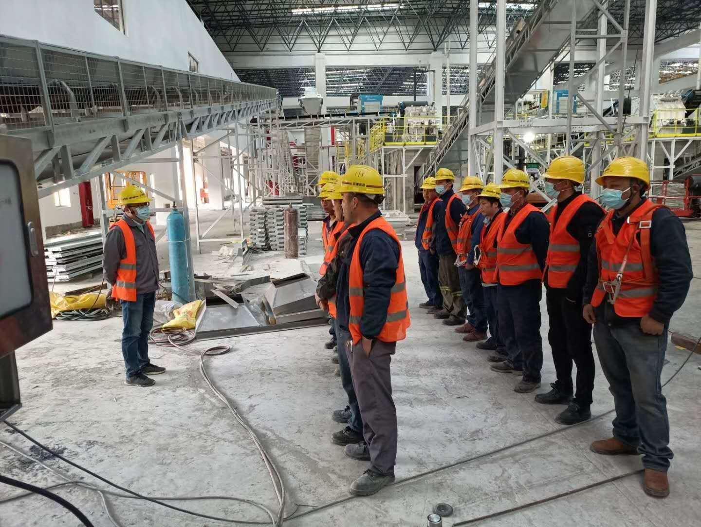嘉兴鼎实机械派出强大技术团队为上海环保事业添砖加瓦