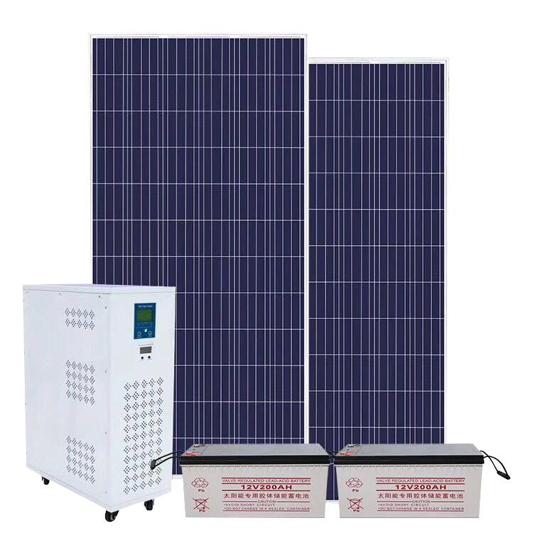 1000W家用移动离网交流太阳能发电系统