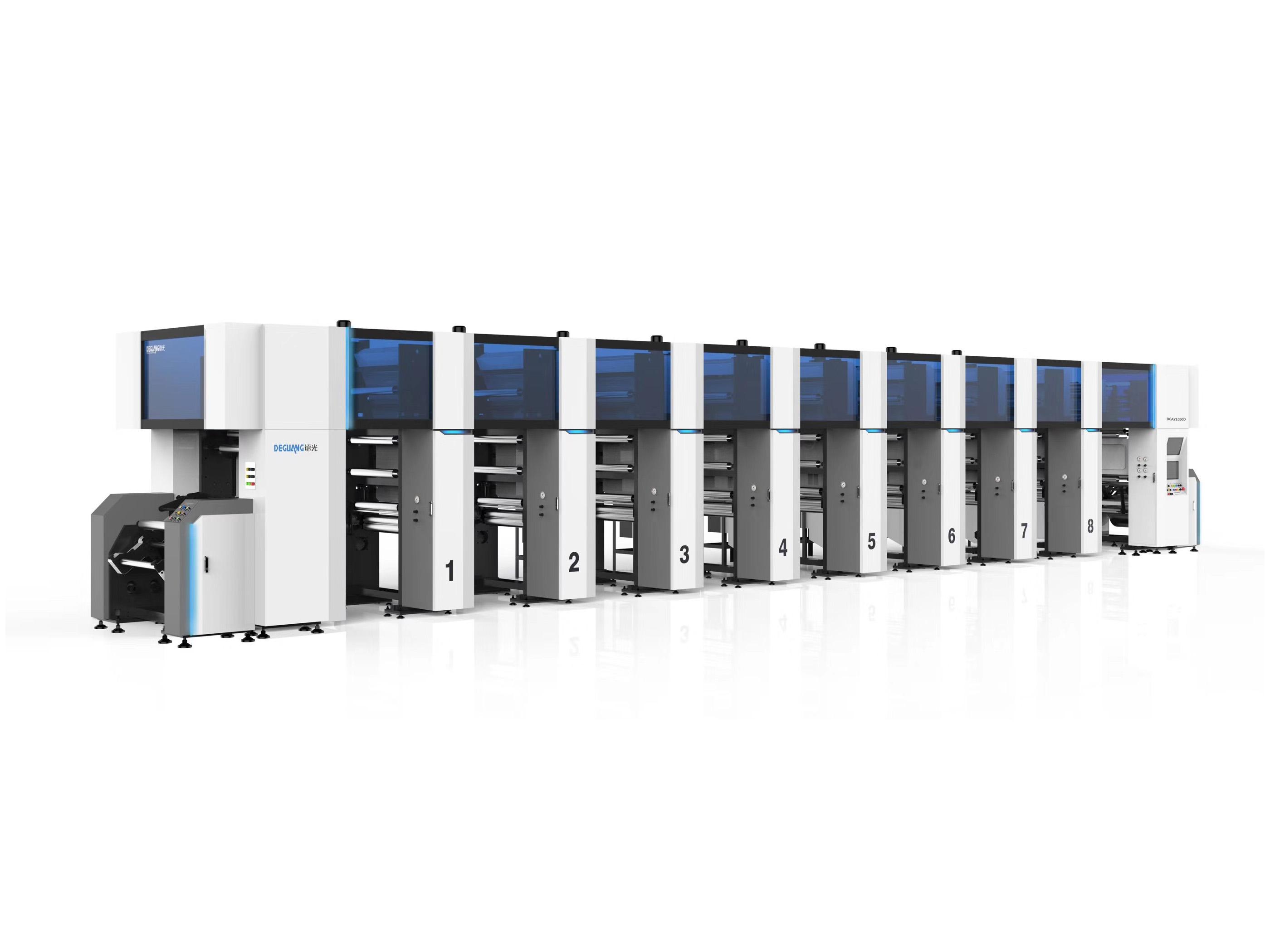 DGAY800.1100ES电子轴凹版彩印机