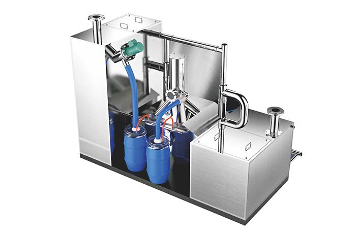 一体化密封隔油器