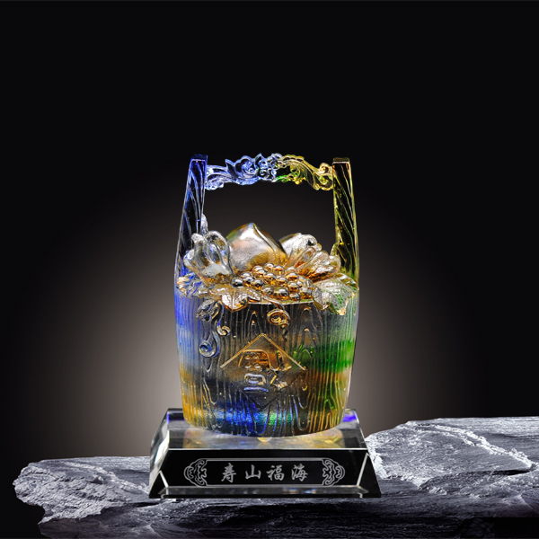 夏氏琉璃 C-087 寿山福海