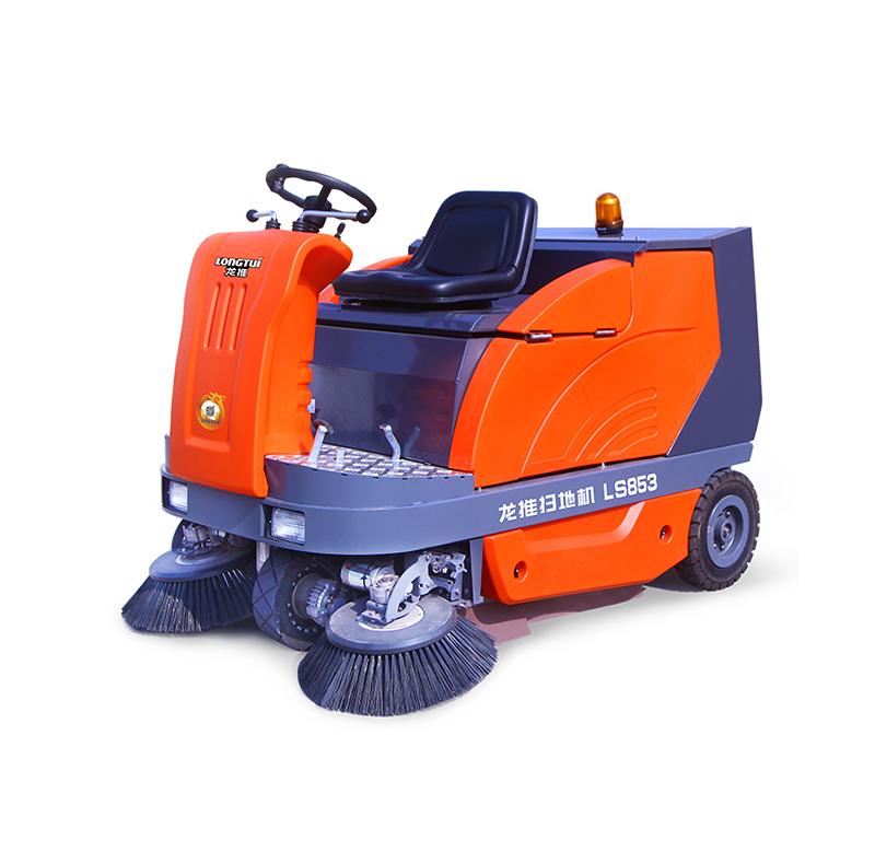龙工LS853电动驾驶式扫地机