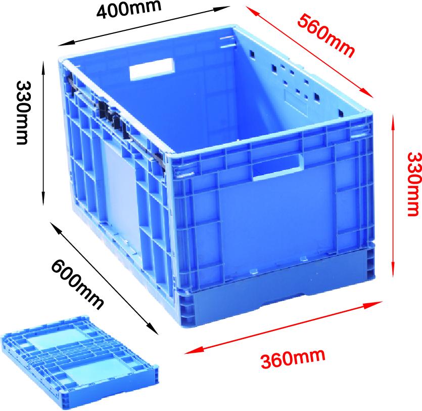 EUO4633折疊箱