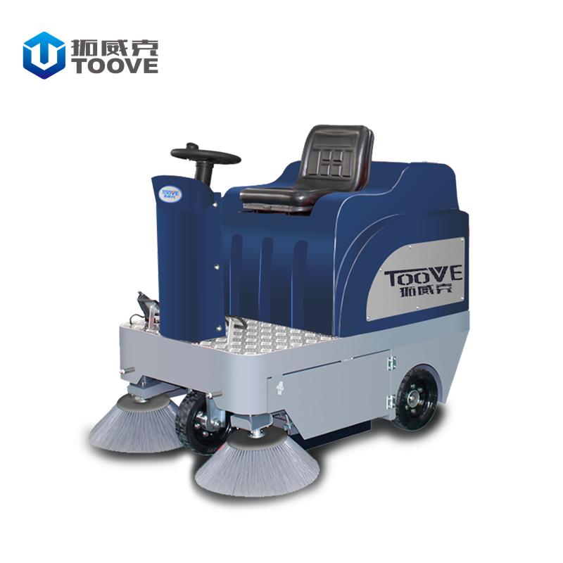 江苏TS1280拓威克驾驶式公路扫地机-电动扫路车--地面粉尘小区扫地机