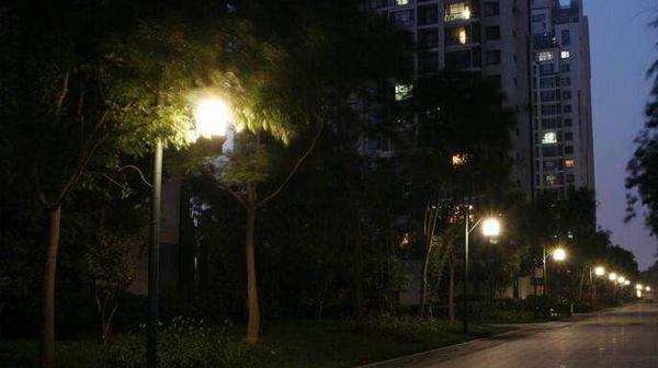 深圳某超大型社区路灯控制系统案例