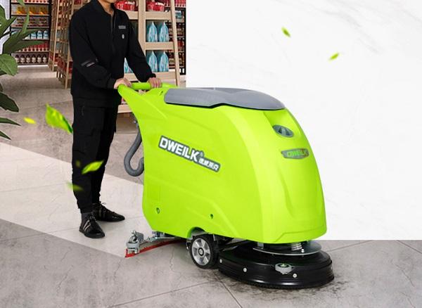 手推式洗地机的清洗价值是什么?