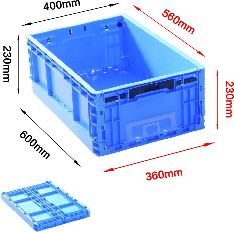 EUO4623折疊箱