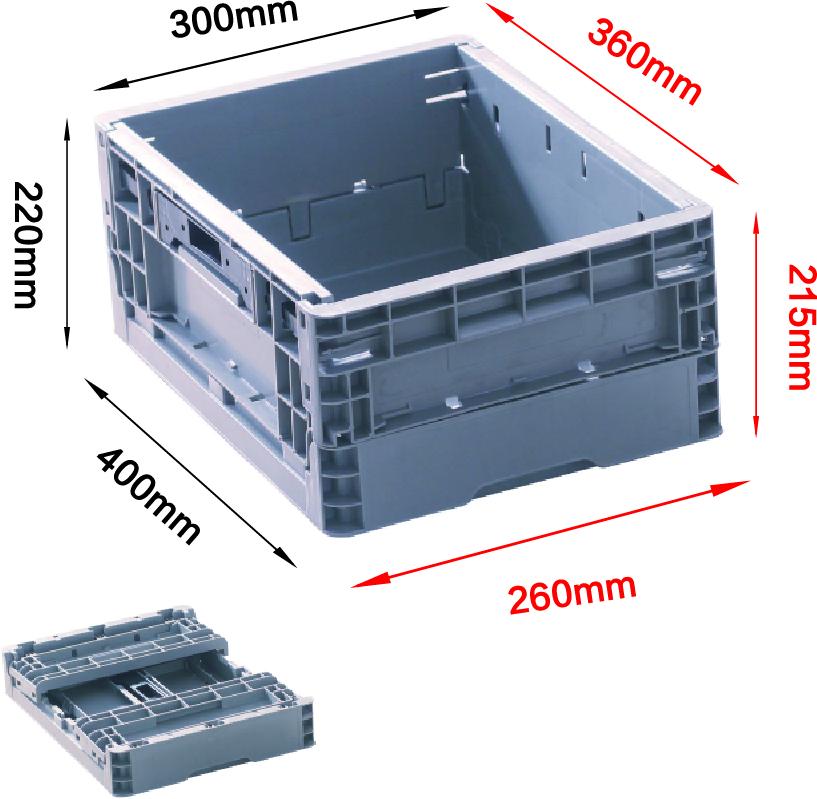 EUO4322折疊箱