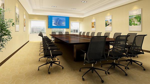 上海商务科技公司会议室