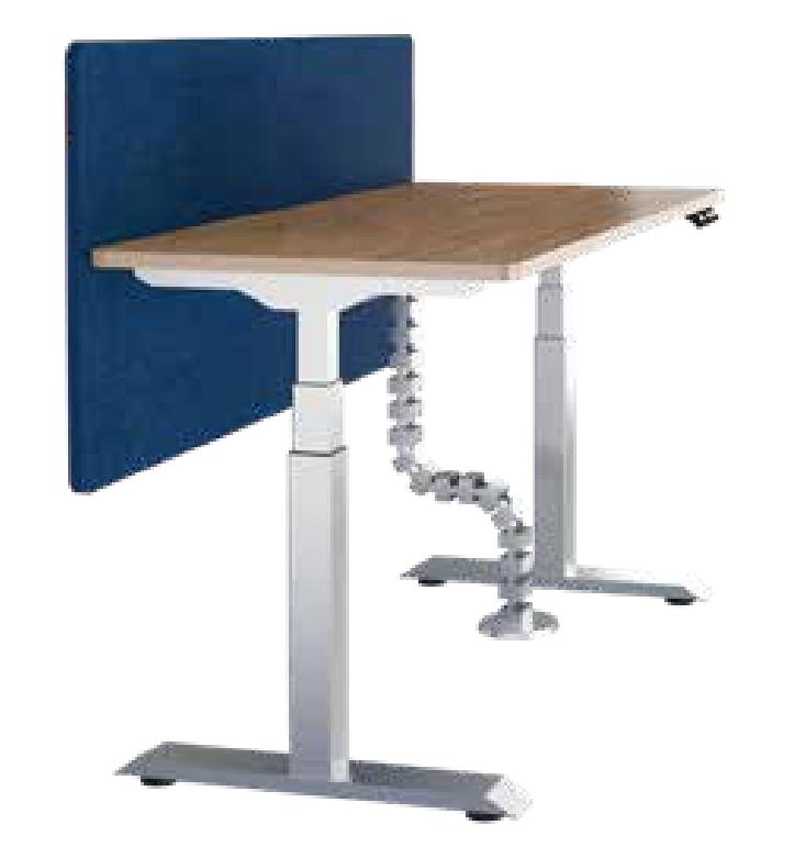 单人升降办公桌