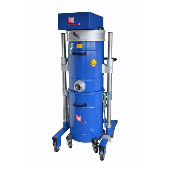 COMPAIR551/199 气动防爆工业吸尘器  尖锐和粗糙物料压缩空气吸尘器