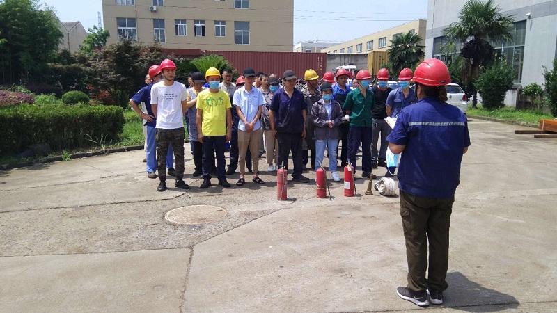嘉兴鼎实机械制造股份有限公司积极开展员工教育和自查活动