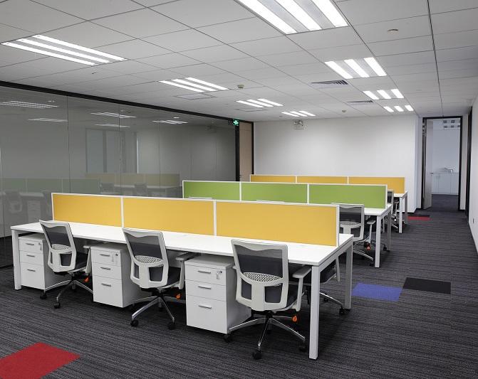 多人板式办公桌,板式办公桌厂家-AB-05