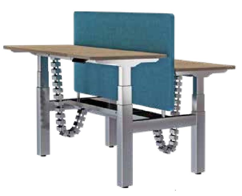双人升降办公桌,升降办公桌厂家-AE-04