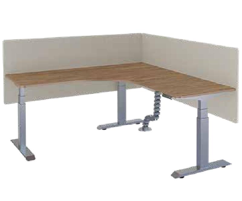 单人升降办公桌,升降办公桌厂家-AE-05