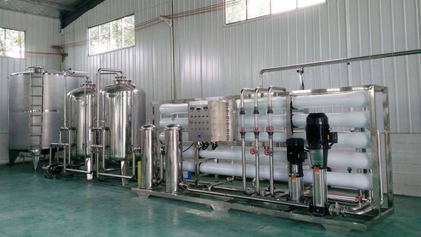 50吨食品行业纯水设备