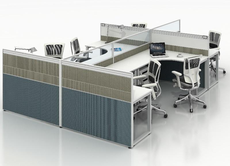 办公桌椅厂家直销屏风办公桌员工位-DA-03