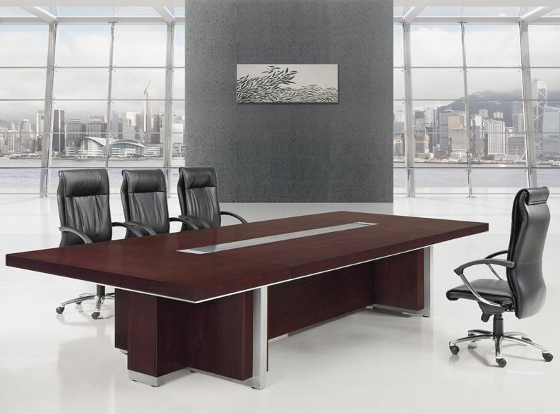 实木会议桌订做,实木会议桌大板-EA-02