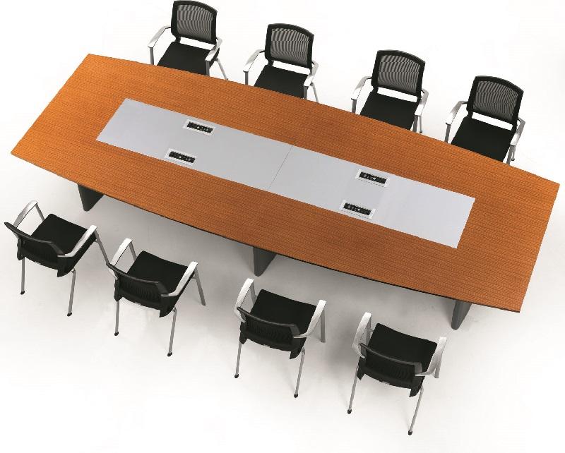 现代实木会议桌,实木会议桌加工厂-EA-04