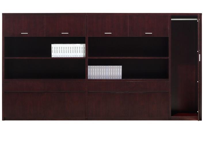 简约实木文件柜背柜定制采购品牌-GB-01