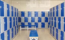 学校储物柜abs塑料更衣柜员工柜厂家直销-GD-04