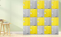ABS塑料更衣柜彩色更衣柜-GD-05