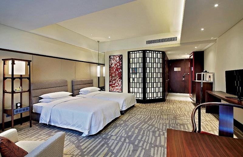 上海酒店家具床整套定制生产厂家-HB-01