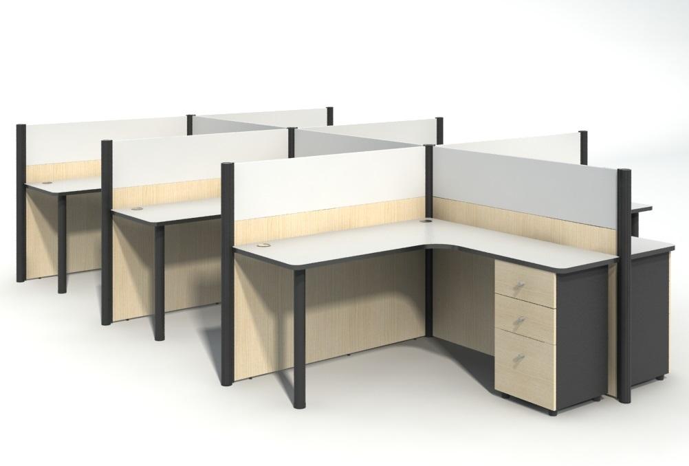 上海学校电脑桌定制品牌生产厂家-JA-03