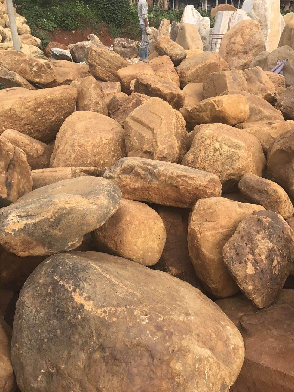 黄蜡石批发,吨位黄蜡石,黄蜡石销售,英德黄蜡石,黄蜡石产地,黄蜡石价格,黄蜡石哪里好?广州悦华园林景观有限公司.